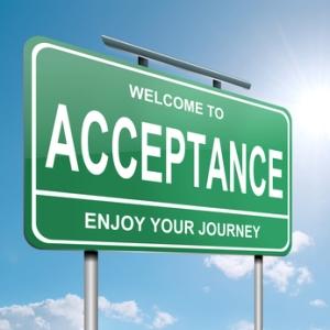 Acceptance concept.